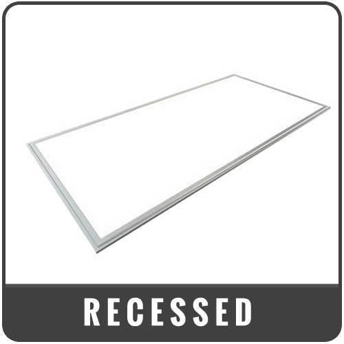 recessed panel lights