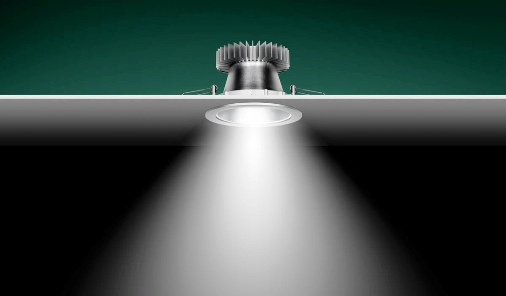 Fitted LED Downlight