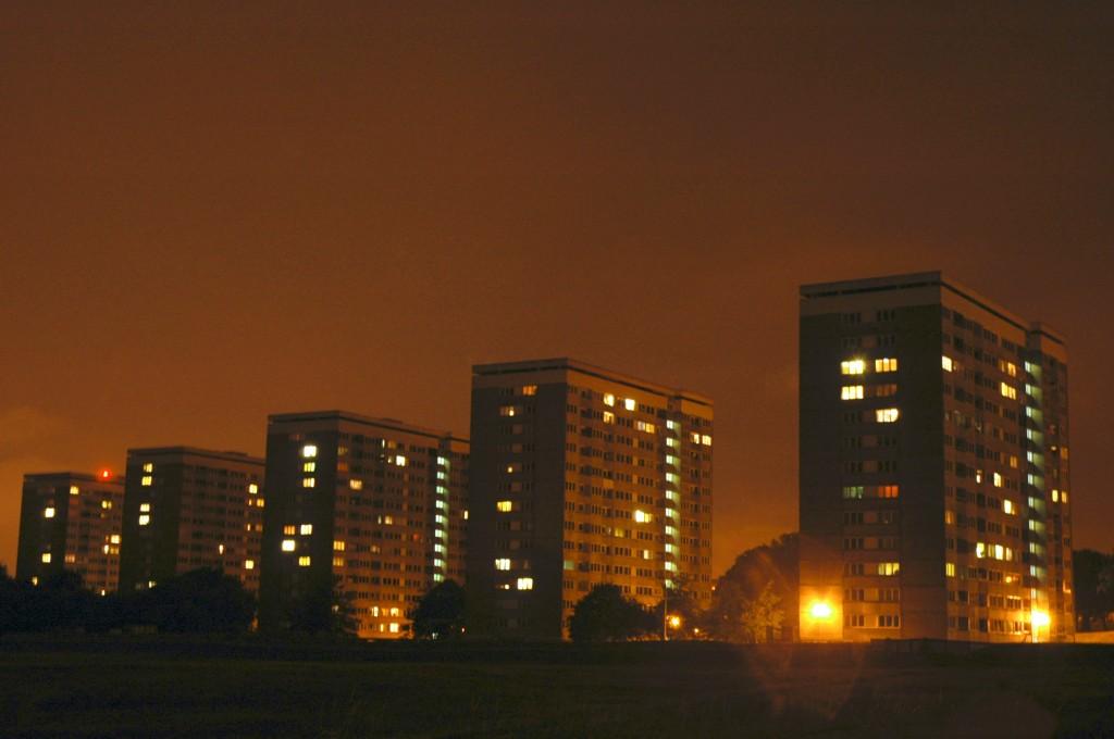 Social Housing Using LED Lighting