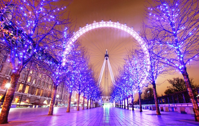 LED lights in London