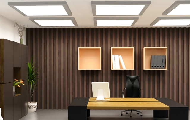Workplace  - Open Space - Office LED Lighting