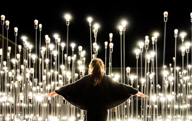 'LEDscape' Is A Labyrinth Of LED Lights