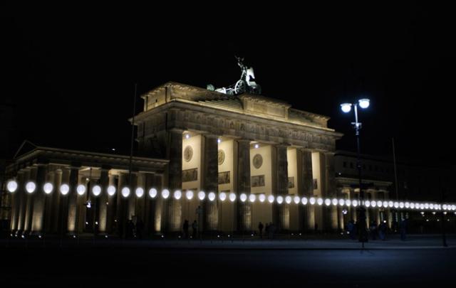 Border Of Lights In Berlin