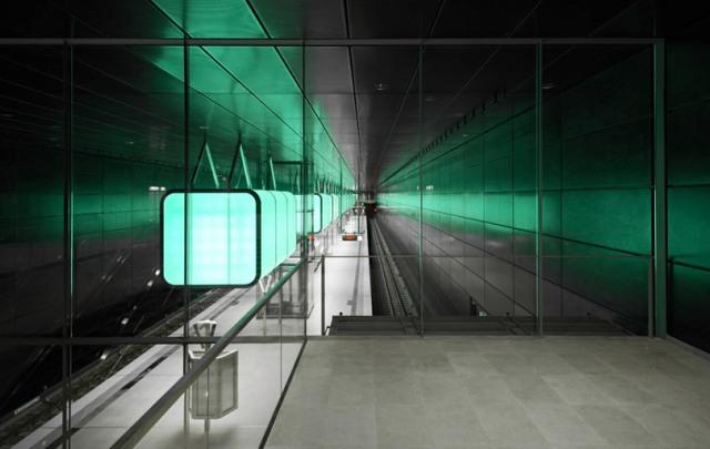 Hamburg - Hafencity Subway Station