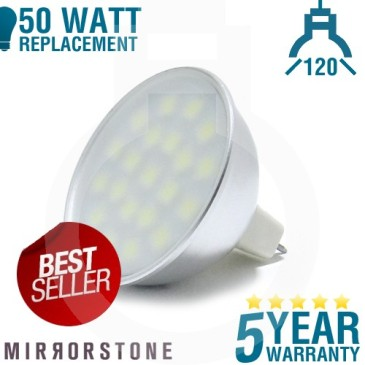 27 SMD MR16 LED Bulb = 50W Replacement