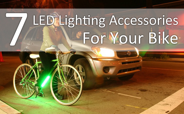 7 Lighting Accessories For Your Bike