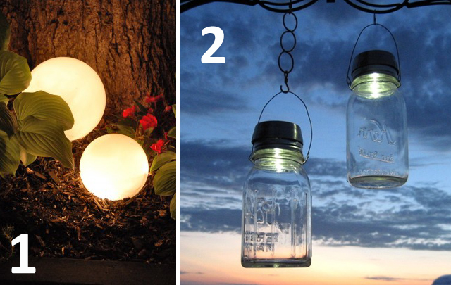 6 diy outdoor lighting ideas for your garden mozeypictures Gallery