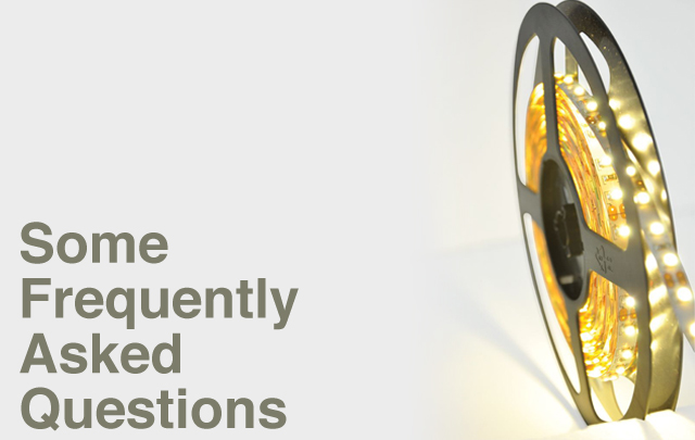LED Strip Lights Some Frequently Asked Questions