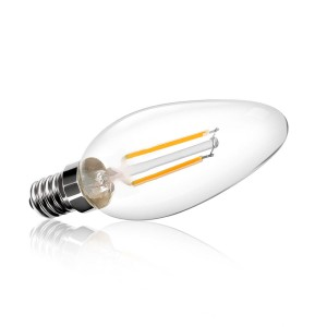 Clean Candle LED Bulb