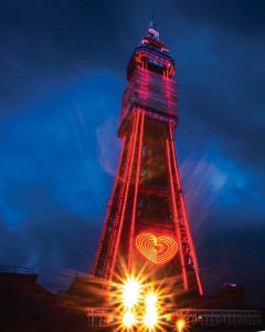 The Blackpool Tower Takes LED Lighting