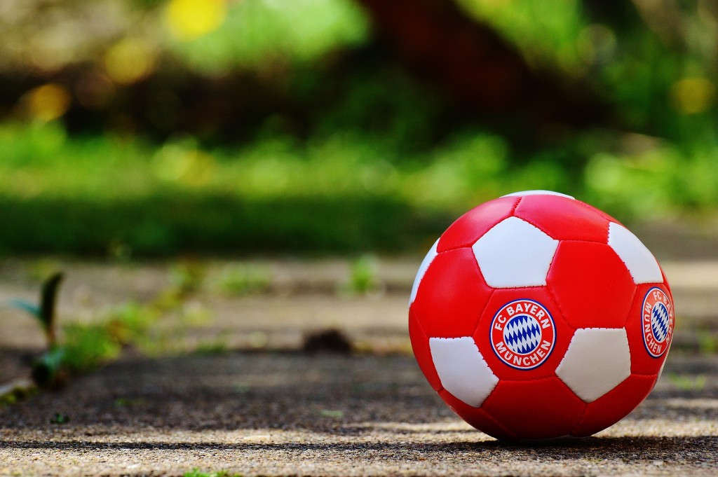 Football Branded With Bayern-Munich