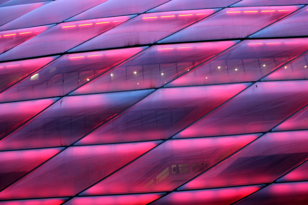 Allianz Arena Using LED Lights