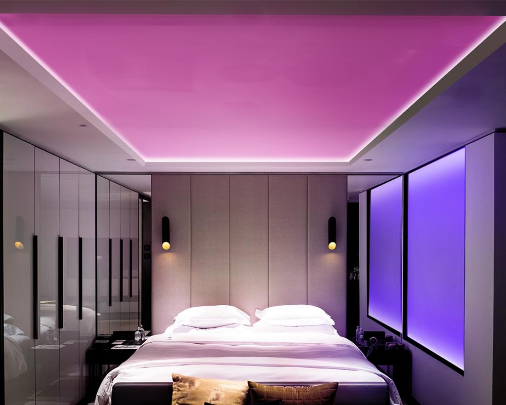 LED Strip Lights In Bedroom
