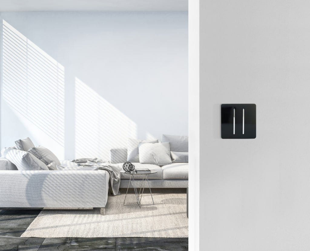 Modern living room with Trendi Light Switch